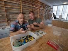 Lego sorteren in Kampen: volgens Bas het allerleukste werk dat hij doet