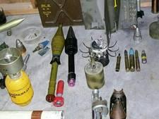 Grote wapen- en munitievondst in huis 81-jarige Ouddorper
