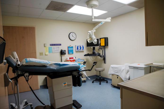 La salle où les avortements sont pratiqués au Planned Parenthood de la clinique St. Louis dans le Missouri.