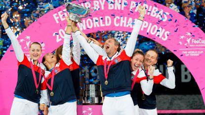 Frankrijk wint Fed Cup na verrassende zege in Australië