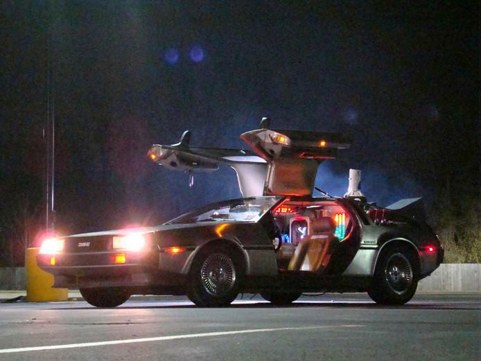 Het origineel uit de film Back to the Future