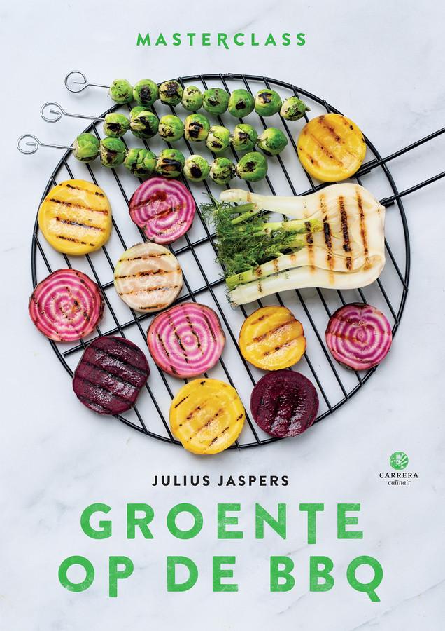 Het kookboek 'groente op de BBQ'