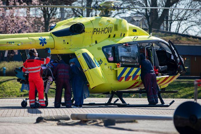 De traumahelikopter kan nu naast het ziekenhuis Slingeland landen. Foto ter illustratie.
