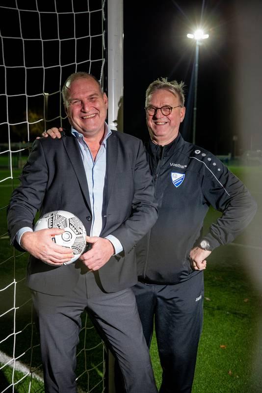 Paul Knoop en peter Jansen van SC Woezik.