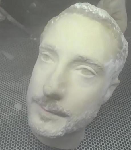 Gezicht uit 3D-printer fopt gezichtsherkenning van  Android-toestellen