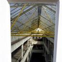Doorkijk in de Timmerfabriek vanaf het dak.