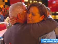 Chimène Badi fond en larmes en retrouvant son père