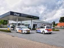 Gewapende overval op tankstation in Diessen, overvaller weg met kleine buit