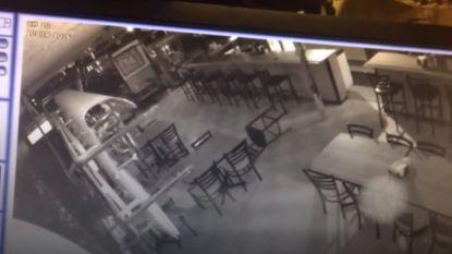 Geesten gefilmd op café?