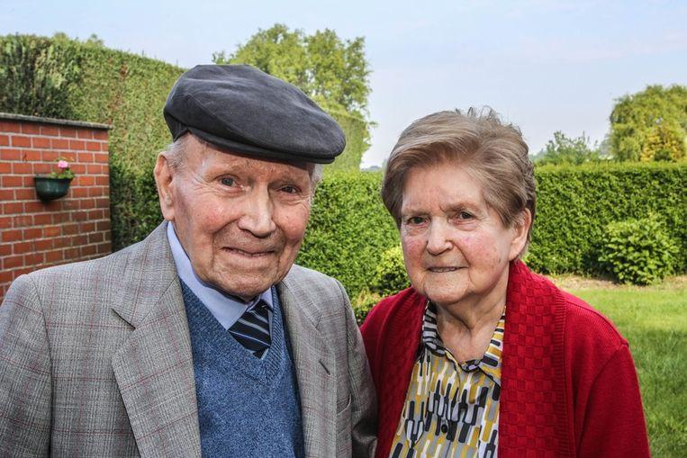 Gerard Vanovervelt en Marie-José Vandenberghe.