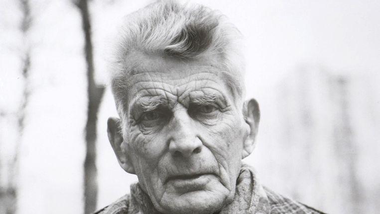 Samuel Beckett (jaartal onbekend). Beeld anp