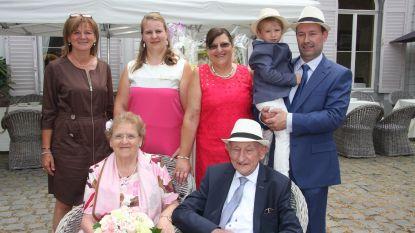 Willy en Hilda vieren 60 jaar huwelijk
