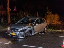 Automobiliste naar het ziekenhuis na forse botsing in Diessen