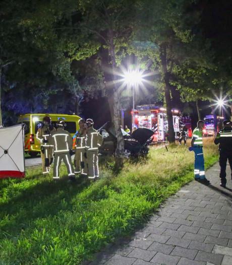 Automobilist zwaargewond nadat auto tegen boom rijdt in Lage Mierde