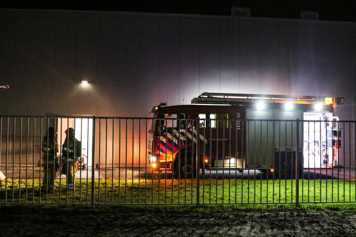 In het bedrijfspand van Bedrocan in Emmeloord heeft woensdagavond korte tijd brand gewoed.