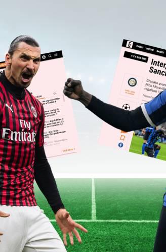 """'Koning' Lukaku en 'God' Ibrahimovic worden bejubeld in Italiaanse pers: """"Toppers stuwen elkaar naar hoger niveau"""""""