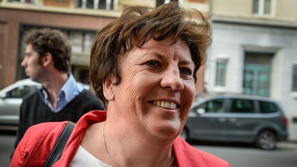 Minister Ingrid Lieten (sp.a).