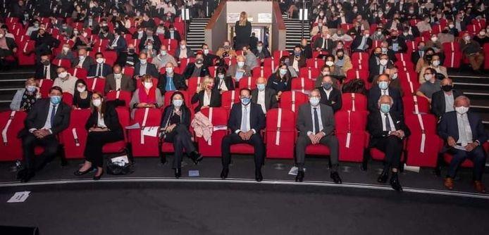 Le congrès du MR avait lieu hier soir dans l'Auditorium 2000 de Brussels Expo.
