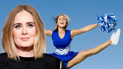 Adele ontdekt nieuw talent en stort zich op pompons maken