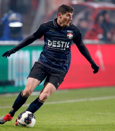 Willem II'er Marios Vrousai verliest met Griekenland onder 20 van Slowakije