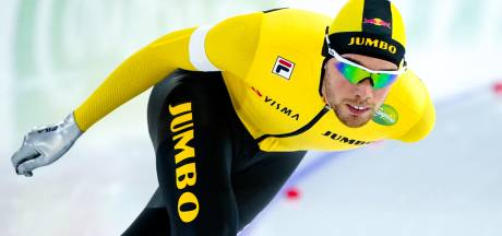Roest verslaat Kramer op 5000 meter bij NK afstanden: 'Hoop dat mensen thuis hebben genoten'