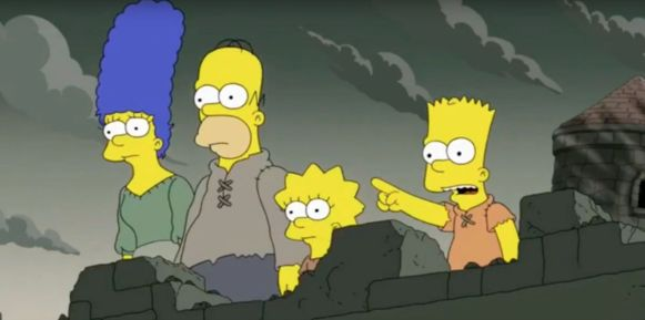 The Simpsons voorspelden het einde van 'Game Of Thrones'.