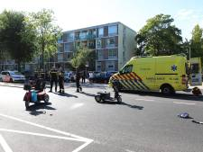 Scootmobieler gewond bij aanrijding met auto op Erasmusweg