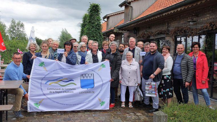Het jumelagecomité van Lichtervelde ontving twee weken geleden nog 26 gasten uit Audruicq op kinderboerderij Den Ast.
