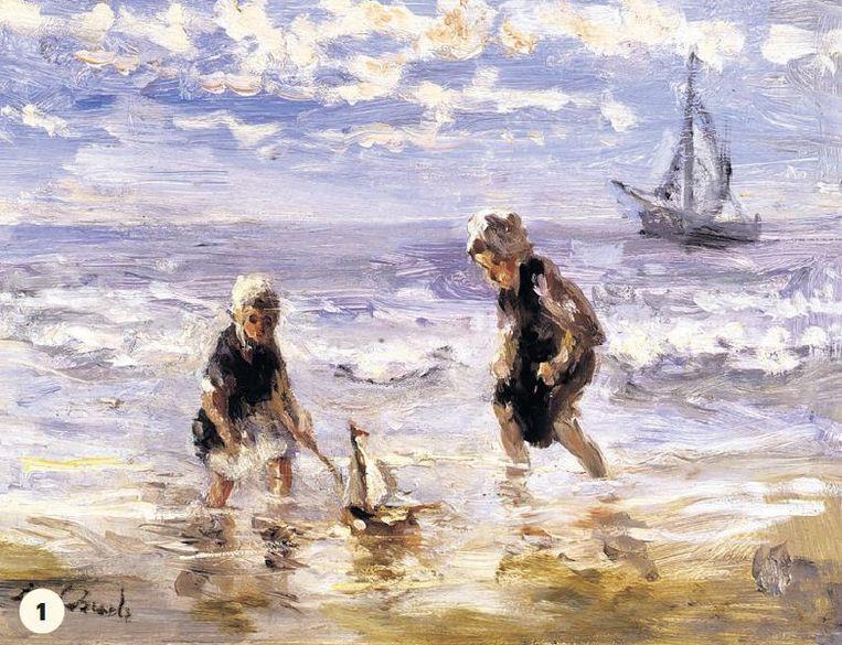 null Beeld Jozef Israëls, Kinderen der Zee