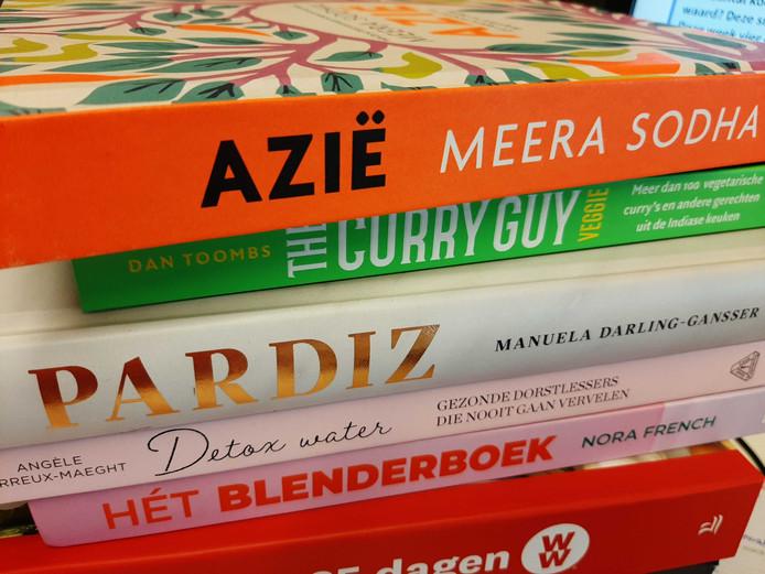 Kookboeken die de afgelopen weken verschenen.