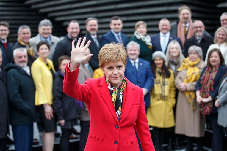 De Schotse premier Nicola Sturgeon.