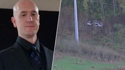 Man rijdt met auto in afgrond. Een week later wordt hij levend gevonden