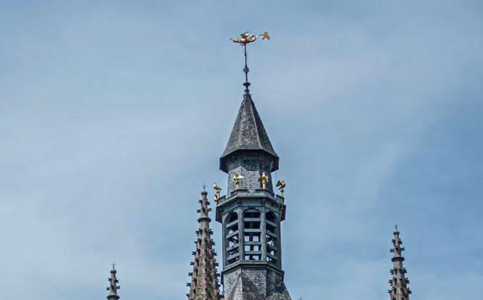 Margrietje, de draak van het Belfort van Ieper