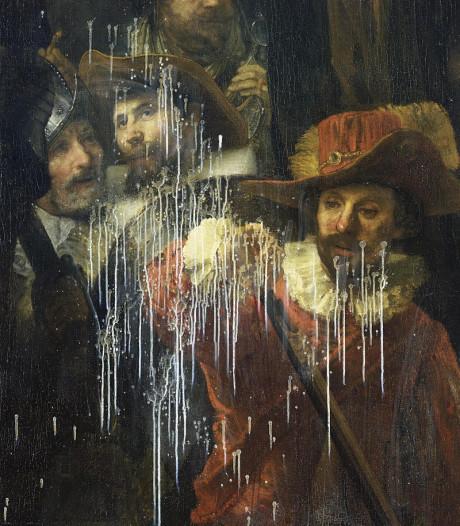 Rembrandts meesterwerk al tientallen keren hersteld