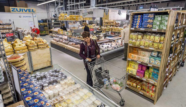 Bij Marqt zijn biologische, lokale, verse en duurzame producten te koop. Beeld Lex van Lieshout
