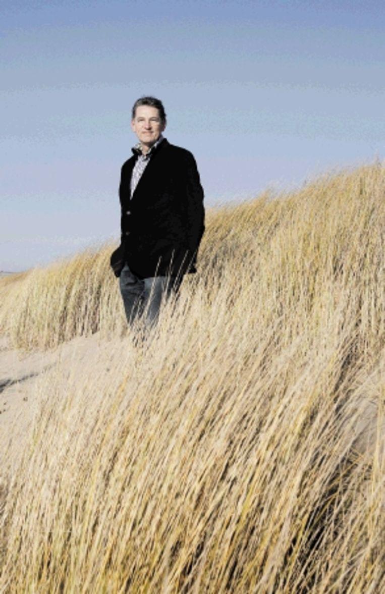 Sjoerd Ghijsen: 'Fulltime betekent 24 uur per dag beschikbaar zijn. Ik ben op vakantie en ook nu gaat het werk door: wij hebben dit interview.' (FOTO BART VAN DER MOEREN) Beeld Bart Van der Moeren