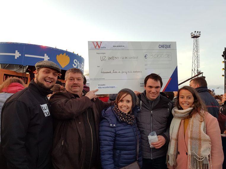 Jong Open Vld schonk 3000 euro aan De Warmste Week