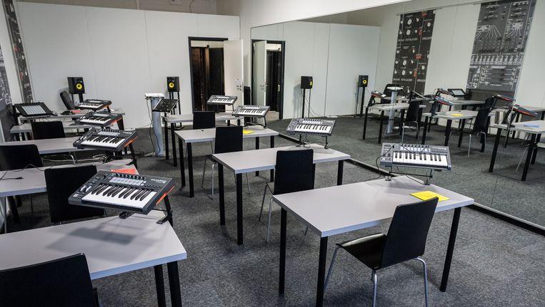 De DJ-school Beeld Mats van Soolingen