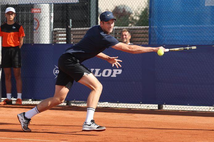 Botic van de Zandschulp strandt in de 8ste finale in Praag.