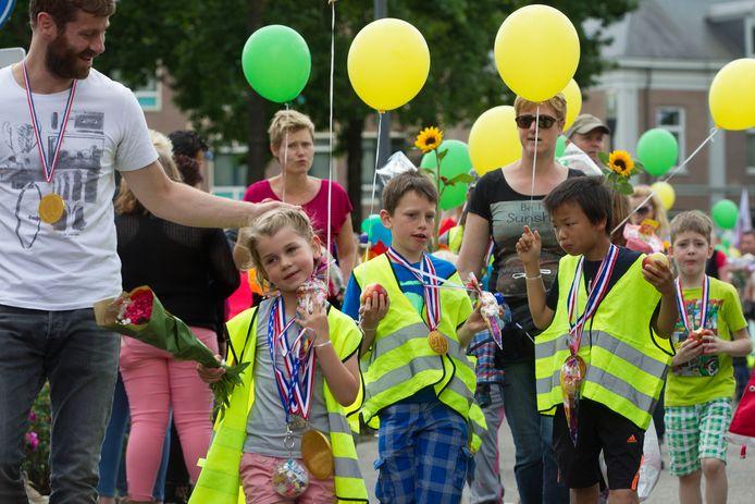 Intocht vierdaagse Helmond in 2014