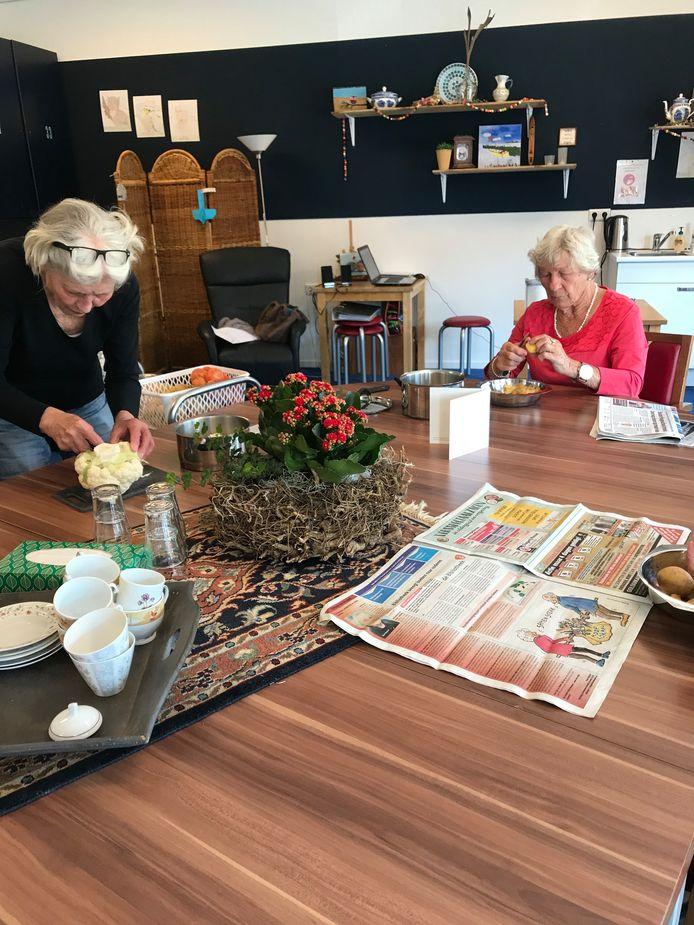 De Zorgfederatie Oldenzaal is op kleine schaal begonnen met dagbesteding