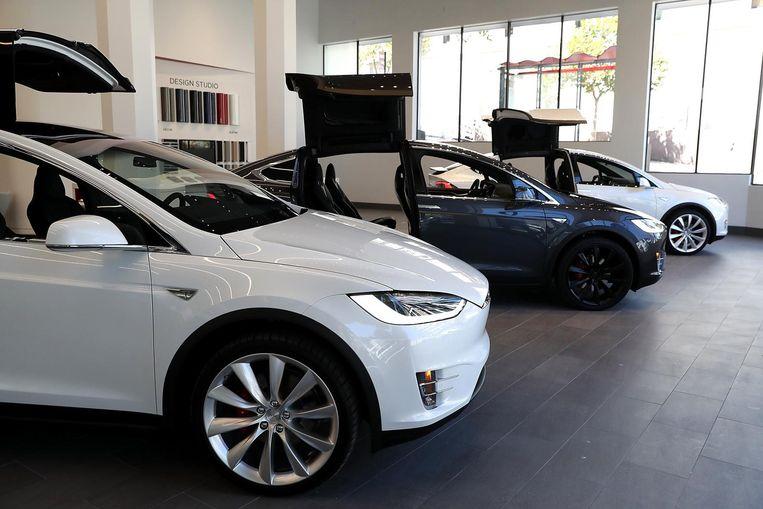 Tesla Model S Beeld anp