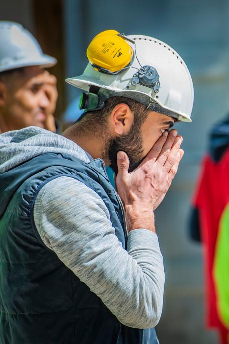 Bouwvakkers huilen om verongelukte kraanmachinist Kevin (24)
