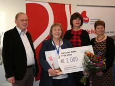 Nijmeegse wint prijs voor haar inzet voor kinderen met een nierziekte