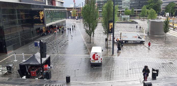 Jaarbeursplein in Utrecht.