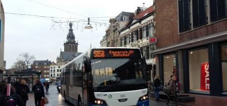 Bus weg uit Burchtstraat