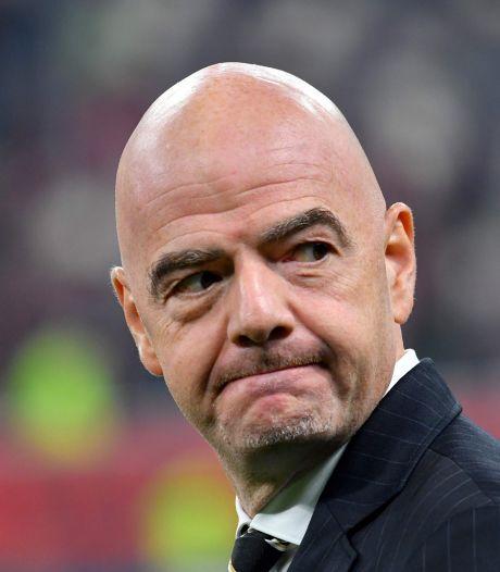 """""""Rien d'illégal"""": la lettre de défense de Gianni Infantino"""