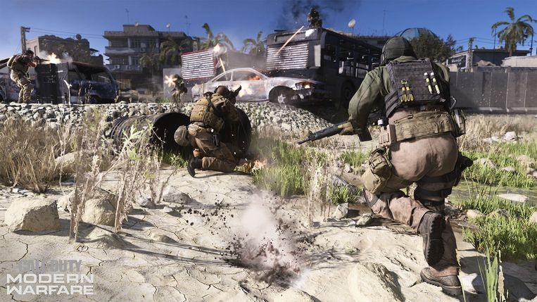 Modern Warfare kwam vorige week uit. Het is de zestiende editie van Call of Duty.