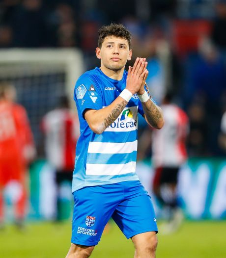 PEC Zwolle-smaakmaker Gustavo Hamer staat voor miljoenentransfer naar Coventry City