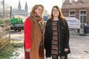 Projectleider Lonneke Lossie en kavelbegeleider Margo van Dun van de gemeente Loon op Zand.